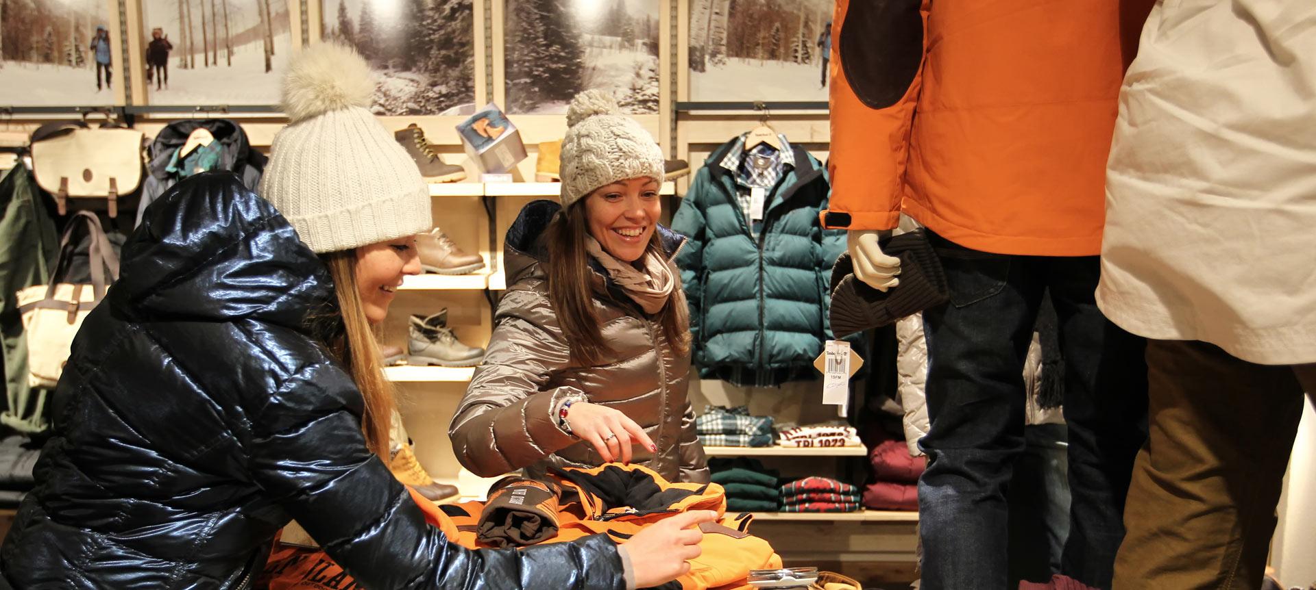 Shopping a Livigno
