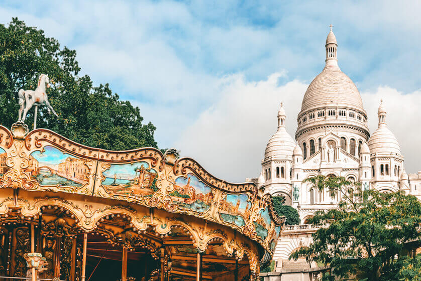 Weekend romantico a Parigi- Montmartre
